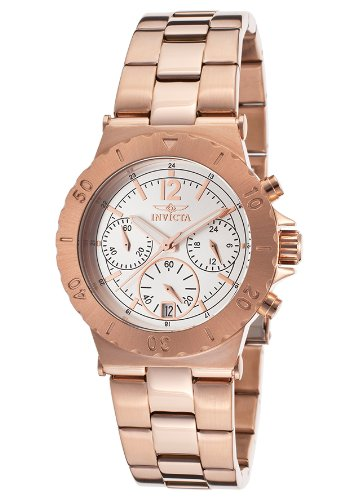 インヴィクタ インビクタ 腕時計 レディース 時計 Invicta Women's 17072 Specialty Analog Display Japanese Quartz Rose Gold Watch