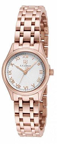 インヴィクタ インビクタ 腕時計 レディース 時計 Invicta S. Coifman Silver Dial Rose Gold-plated Ladies Watch SC0341