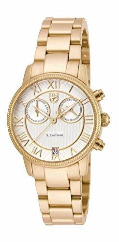 インヴィクタ インビクタ 腕時計 レディース 時計 Invicta S. Coifman Chronograph Champagne Dial Gold-tone Ladies Watch SC0332