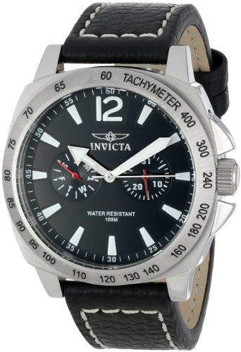 インヴィクタ インビクタ 腕時計 メンズ 時計 Invicta Men's 0853 II Black Dial Multi-Function Watch