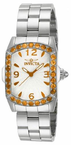 インヴィクタ インビクタ 腕時計 レディース 時計 Invicta Lupah Orange Crystal Ladies Watch 14135