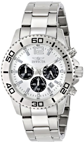 インビクタ 時計 インヴィクタ メンズ 腕時計 Invicta Men's 17395 Pro Diver Analog Display Japanese Quartz Silver Watch