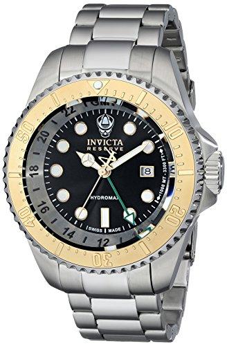 インビクタ 時計 インヴィクタ メンズ 腕時計 Invicta Men's 16960 Reserve Analog Display Swiss Quartz Silver Watch
