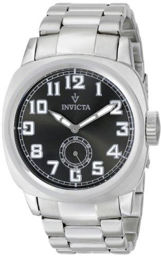 インビクタ 時計 インヴィクタ メンズ 腕時計 Invicta Men's 15080 Vintage Analog Display Japanese Quartz Silver Watch