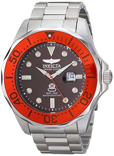 インビクタ 時計 インヴィクタ メンズ 腕時計 Invicta Men's 14658 Pro Diver Analog Display Swiss Quartz Silver Watch