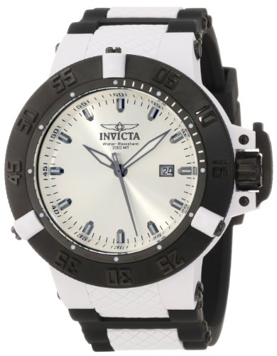 インビクタ 時計 インヴィクタ メンズ 腕時計 Invicta Men's 10119 Subaqua Noma III Silver White Sunray Dial Watch