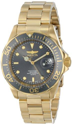 インビクタ 時計 インヴィクタ メンズ 腕時計 Invicta Men's 14976 Pro Diver Analog Display Japanese Quartz Gold Watch