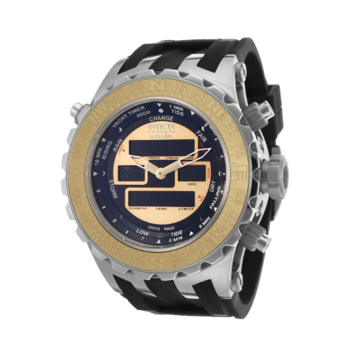 インビクタ 時計 インヴィクタ メンズ 腕時計 Invicta Men's 12591 Subaqua Analog-Digital Swiss-Quartz Black Watch