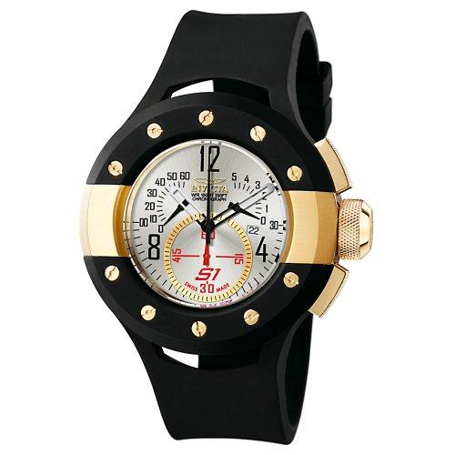 インビクタ 時計 インヴィクタ メンズ 腕時計 Invicta Men's 6461 S1 Collection Chronograph Black Rubber Watch