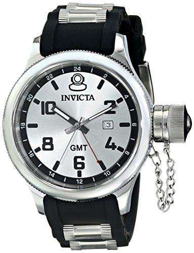 インビクタ 時計 インヴィクタ メンズ 腕時計 Invicta Men's 6612 Signature Collection GMT Black Rubber Watch