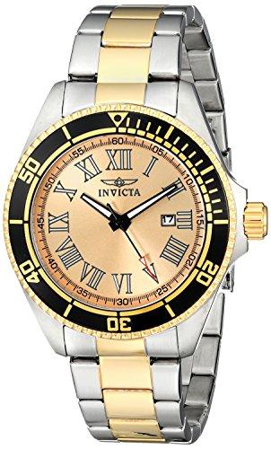 インビクタ 時計 インヴィクタ メンズ 腕時計 Invicta Men's 15000 Pro Diver Analog Display Japanese Quartz Two Tone Watch