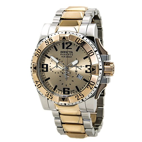 インビクタ 時計 インヴィクタ メンズ 腕時計 Invicta Excursion Chronograph Rose Dial Two-tone Mens Watch 80381