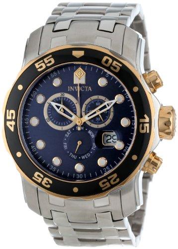 インビクタ 時計 インヴィクタ メンズ 腕時計 Invicta Men's 80041 Pro Diver Chronograph Blue Dial Stainless Steel Watch