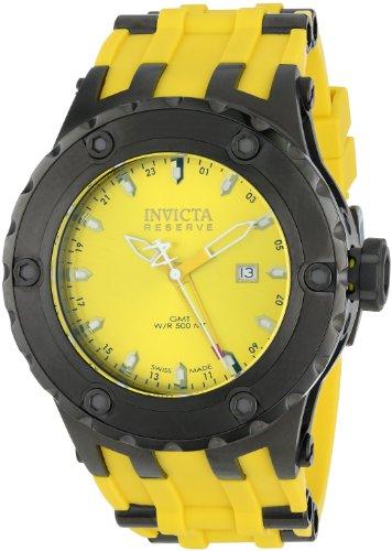 インビクタ 時計 インヴィクタ メンズ 腕時計 Invicta Men's 12040 Subaqua/Reserve Analog Display Swiss Quartz Yellow Watch