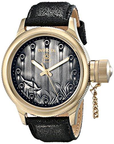 インビクタ 時計 インヴィクタ メンズ 腕時計 Invicta Men's 17166 Russian Diver Analog Display Japanese Quartz Black Watch