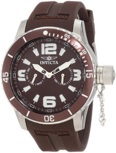 インビクタ 時計 インヴィクタ メンズ 腕時計 Invicta Men's 1797 Specialty Brown Polyurethane Watch