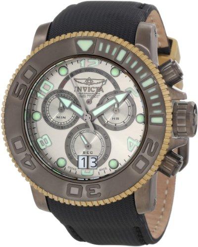 インビクタ 時計 インヴィクタ メンズ 腕時計 Invicta Men's 10721 Sea Hunter Chronograph Silver Grey Dial Watch