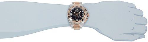 インビクタ 時計 インヴィクタ メンズ 腕時計 Invicta Men's 0204 Reserve Collection Excursion Chronograph Stainless Steel Watch