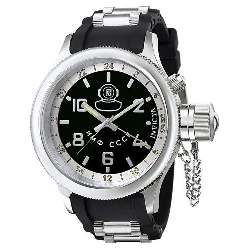 インビクタ 時計 インヴィクタ メンズ 腕時計 Invicta Men's F0040 Signature Collection Russian Diver GMT Watch