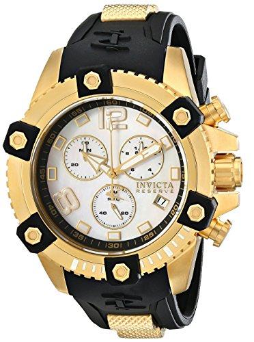 インビクタ 時計 インヴィクタ メンズ 腕時計 Invicta Men's 80360 Reserve Analog Display Swiss Quartz Black Watch