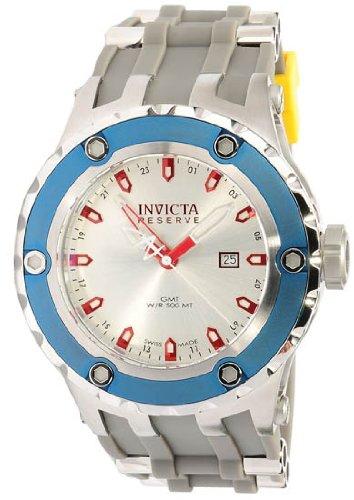 インビクタ 時計 インヴィクタ メンズ 腕時計 Invicta 10970 Reserve Men's Specialty Subaqua Grey Puppy Edition Swiss Made Quartz Silicone Strap Watch