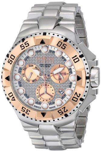 インビクタ 時計 インヴィクタ メンズ 腕時計 Invicta Men's 15982 Excursion Analog Display Swiss Quartz Silver Watch