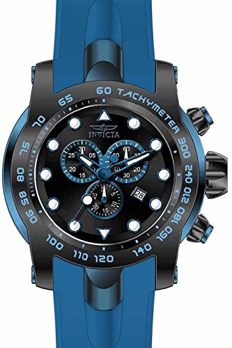インビクタ 時計 インヴィクタ メンズ 腕時計 Invicta Pro Diver Chronograph Black Dial Blue Silicone Mens Watch 17810