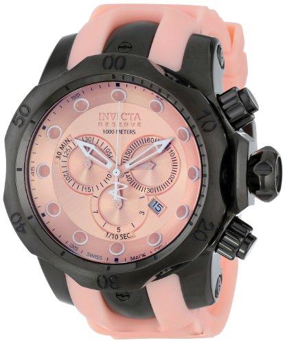 インビクタ 時計 インヴィクタ メンズ 腕時計 Invicta Men's 11965 Venom Analog Display Swiss Quartz Pink Watch