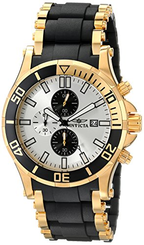 インビクタ 時計 インヴィクタ メンズ 腕時計 Invicta Men's 80139 Sea Spider Analog Display Japanese Quartz Black Watch
