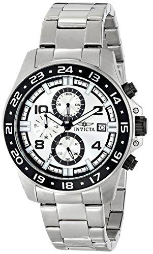 インビクタ 時計 インヴィクタ メンズ 腕時計 Invicta Men's 16022 Pro Diver Analog Display Japanese Quartz Silver Watch