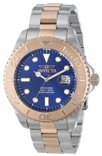 インビクタ 時計 インヴィクタ メンズ 腕時計 Invicta Men's 15189SYB Pro Diver Swiss Quartz Two-Tone Watch with Impact Case