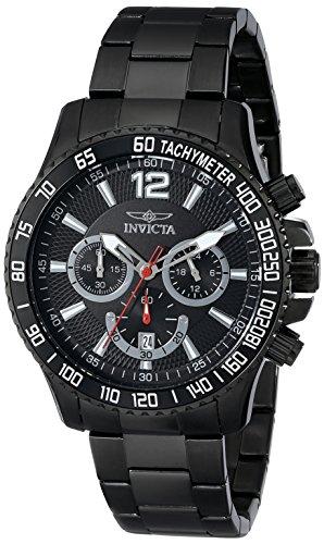 インビクタ 時計 インヴィクタ メンズ 腕時計 Invicta Men's 16203 Specialty Analog Display Japanese Quartz Black Watch