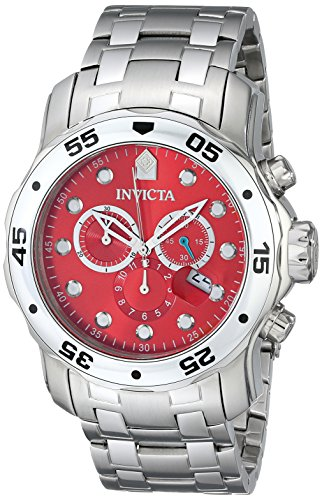 インビクタ 時計 インヴィクタ メンズ 腕時計 Invicta Men's 80061 Pro Diver Analog Display Swiss Quartz Silver Watch
