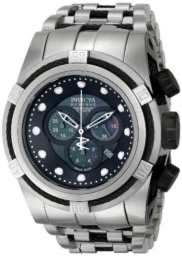 インビクタ 時計 インヴィクタ メンズ 腕時計 Invicta Men's 0825 Bolt Analog Display Swiss Quartz Silver Watch