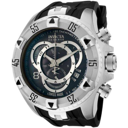 インビクタ 時計 インヴィクタ メンズ 腕時計 Invicta Men's 6971 Reserve Collection Excursion Touring Chronograph Black Polyurethane Watch