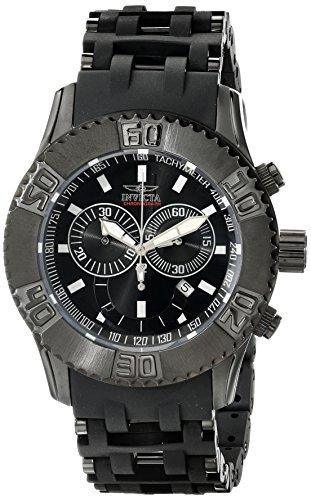 インビクタ 時計 インヴィクタ メンズ 腕時計 Invicta Men's 17071 Sea Spider Analog Display Swiss Quartz Black Watch