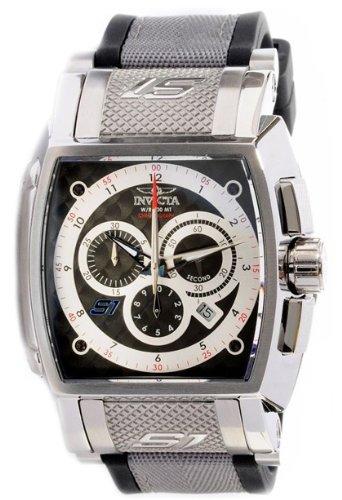 インビクタ 時計 インヴィクタ メンズ 腕時計 Invicta Men's 1081 S1 Rally Chronograph Black Dial Black Polyurethane Watch