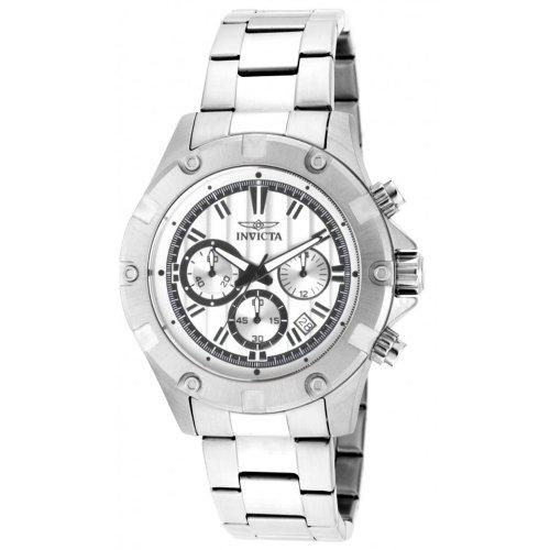 インビクタ 時計 インヴィクタ メンズ 腕時計 Invicta Specialty Chronograph Silver Dial Stainless Steel Mens Watch 15602