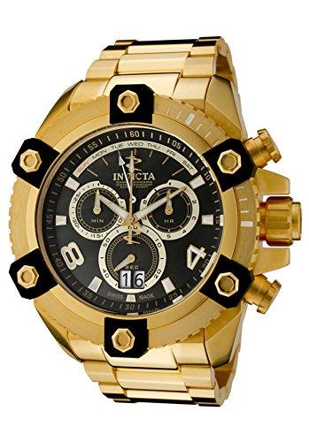 インビクタ 時計 インヴィクタ メンズ 腕時計 Invicta Men's 0340 Arsenal Reserve Chronograph Gold Tone Watch