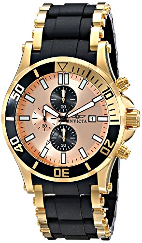 インビクタ 時計 インヴィクタ メンズ 腕時計 Invicta Men's 80138 Sea Spider Analog Display Japanese Quartz Black Watch