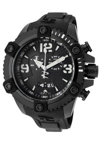 インビクタ 時計 インヴィクタ メンズ 腕時計 Invicta Men's 11177 Arsenal Chronograph Black Dial Black Polyurethane Watch