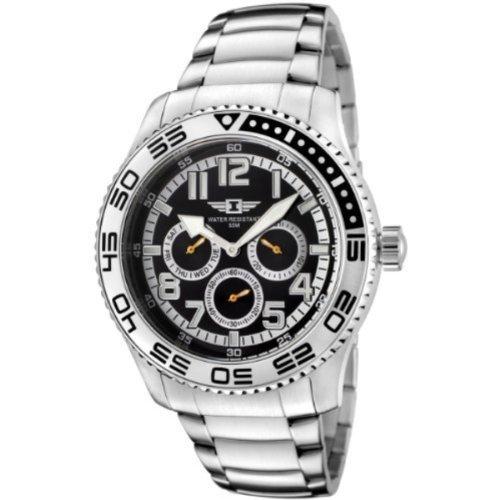 インビクタ 時計 インヴィクタ メンズ 腕時計 I By Invicta Men's 43658-002 Black Dial Stainless Steel Watch