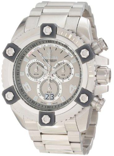 インビクタ 時計 インヴィクタ メンズ 腕時計 Invicta Men's 0336 Arsenal Chronograph Silver Dial Watch