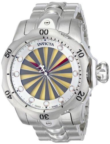 インビクタ 時計 インヴィクタ メンズ 腕時計 Invicta Men's 14599 Venom Analog Display Swiss Quartz Silver Watch