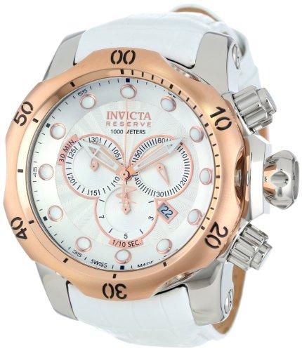 インビクタ 時計 インヴィクタ メンズ 腕時計 Invicta Men's 11857 Venom Analog Display Swiss Quartz White Watch