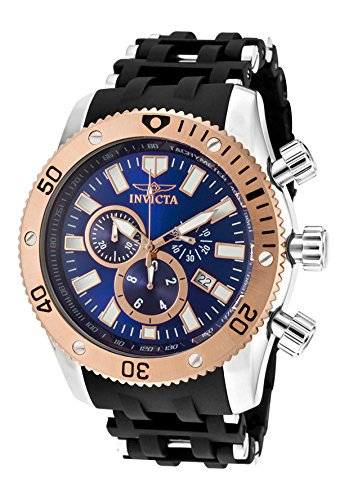 インビクタ 時計 インヴィクタ メンズ 腕時計 Invicta Men's 10248 Sea Spider Chronograph Blue Dial Watch
