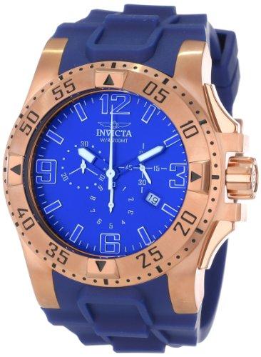 インビクタ 時計 インヴィクタ メンズ 腕時計 Invicta Men's 11907 Excursion Sport Chronograph Blue Dial Blue Polyurethane Watch
