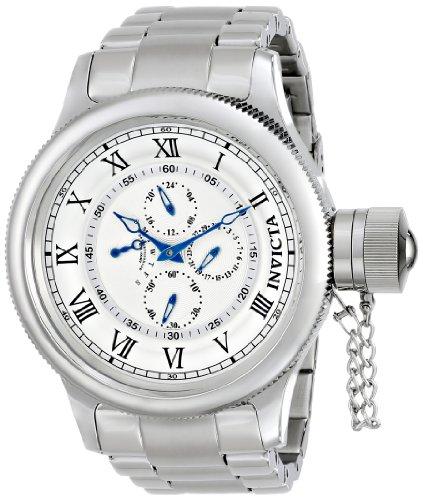 インビクタ 時計 インヴィクタ メンズ 腕時計 Invicta Men's 15930 Russian Diver Analog Display Japanese Quartz Silver Watch