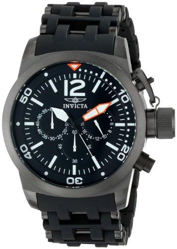 インビクタ 時計 インヴィクタ メンズ 腕時計 Invicta Men's 14870 Sea Spider Analog Display Japanese Quartz Black Watch