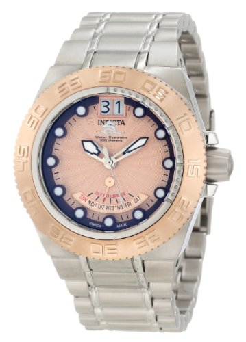 インビクタ 時計 インヴィクタ メンズ 腕時計 Invicta Men's 10871 Subaqua Rose Gold Sunray Dial Stainless Steel Watch